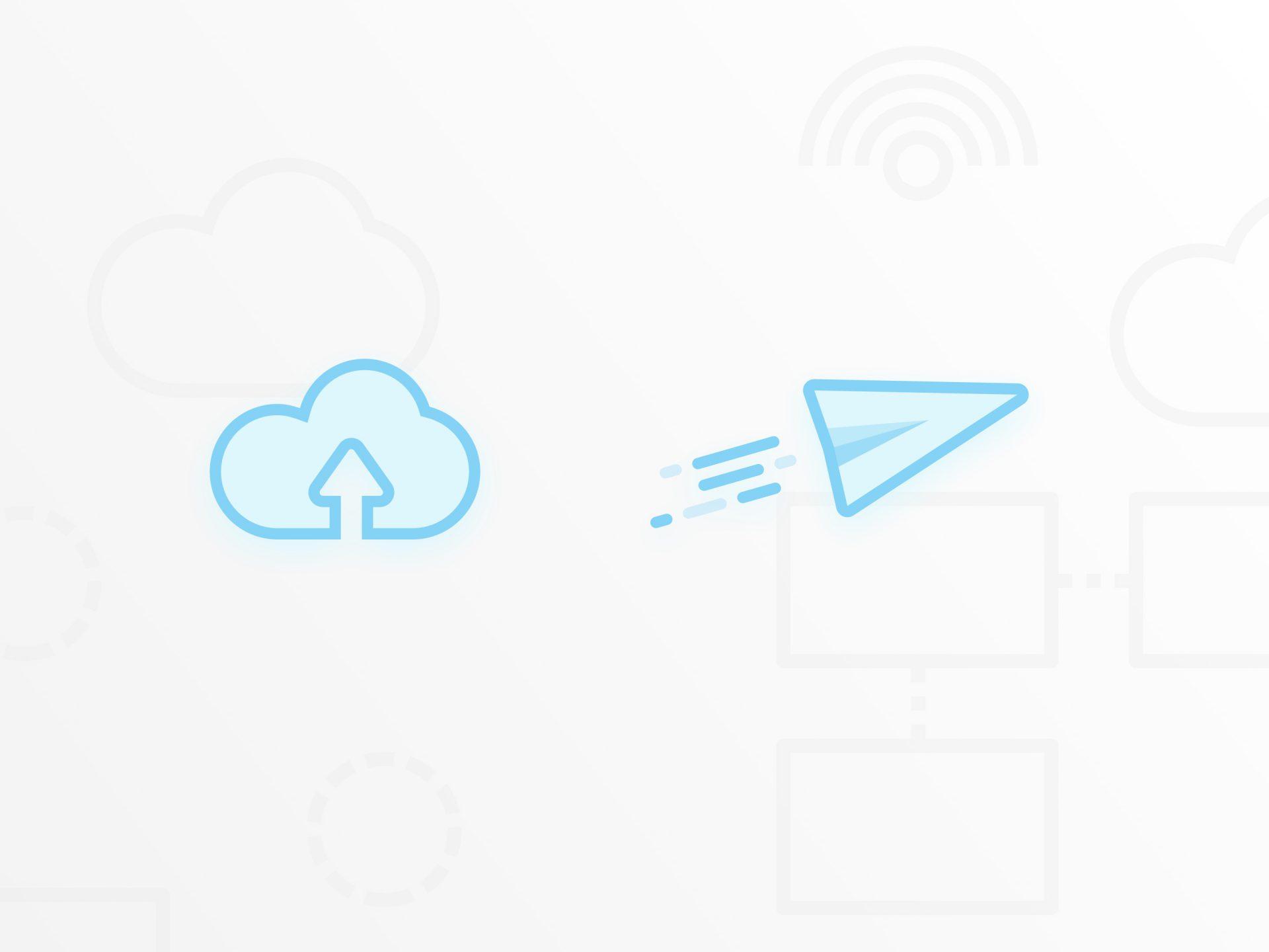 File Transfer UI - Icon design