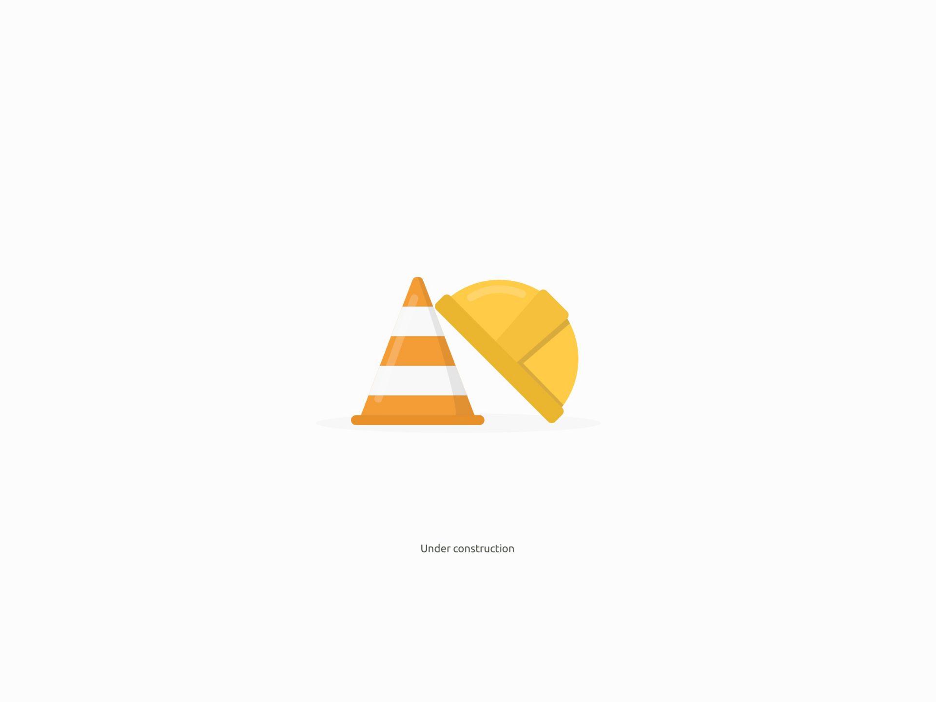 Under Construction Icon Design