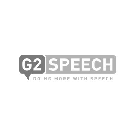 Logo van G2 Speech