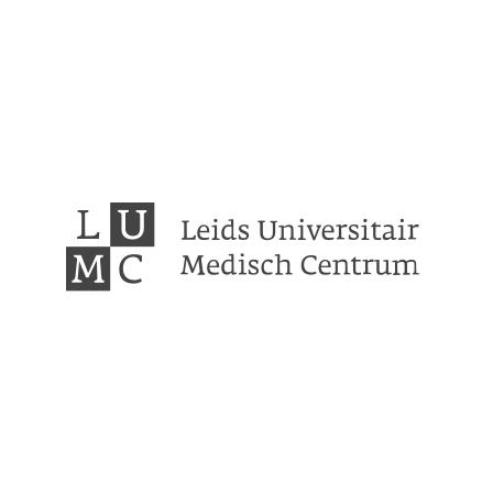 Logo van het LUMC