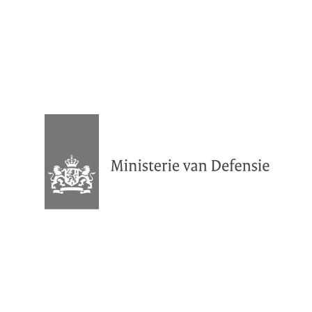 Logo van het Ministerie van Defensie